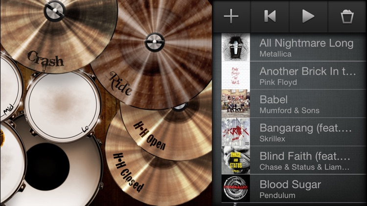 Drums! - A studio quality drum kit in your pocket