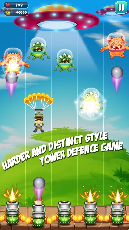 Alien war - alien defense screenshot-4