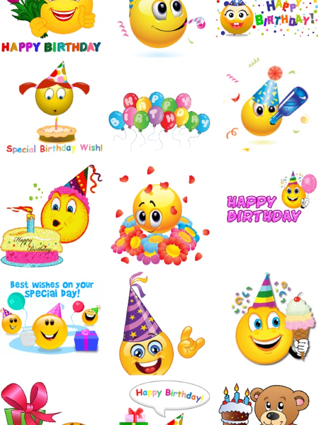 Birthday Emojis On The App Store