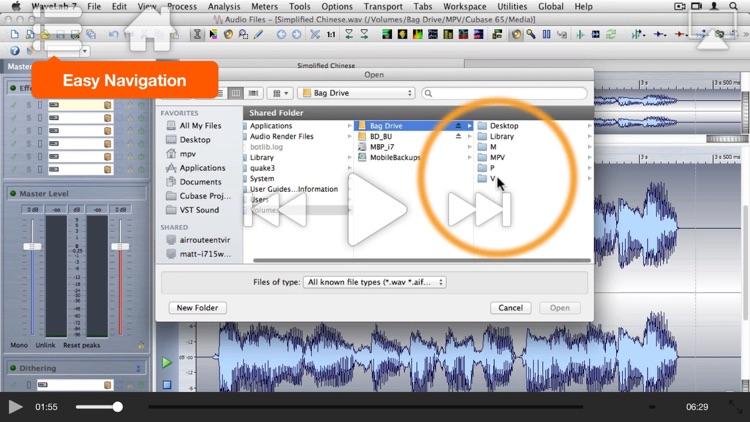 AV for WaveLab - Editing and Metering screenshot-3