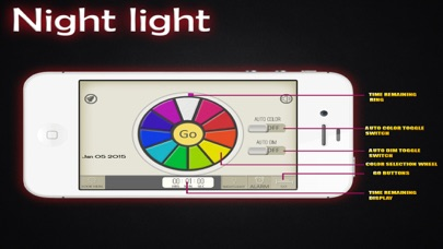 Night Light + : Ultimate Nightstand and Alarm Clock screenshot two