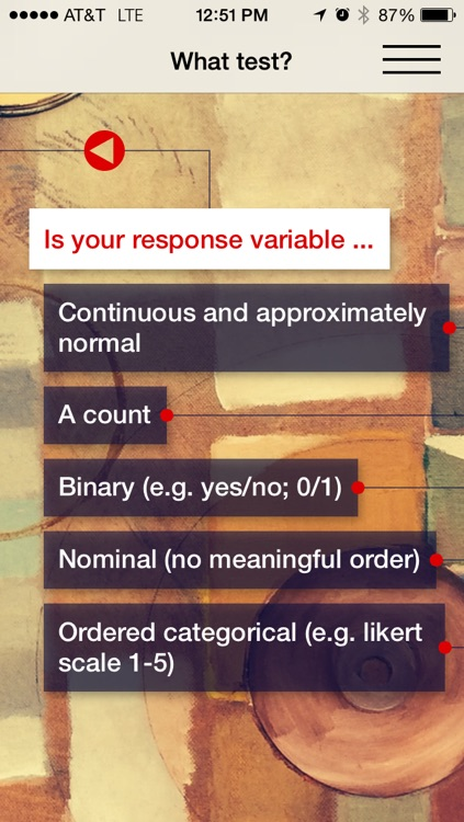 stats! Statistics Learning and Decision Tool screenshot-3