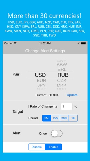 Forex Alert Monitoring In The Background 4