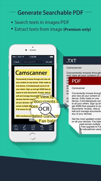 CamScanner Free| PDF Document Scanner and OCR app image