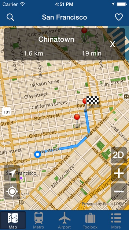 San Francisco Offline Map - City Metro Airport screenshot-4