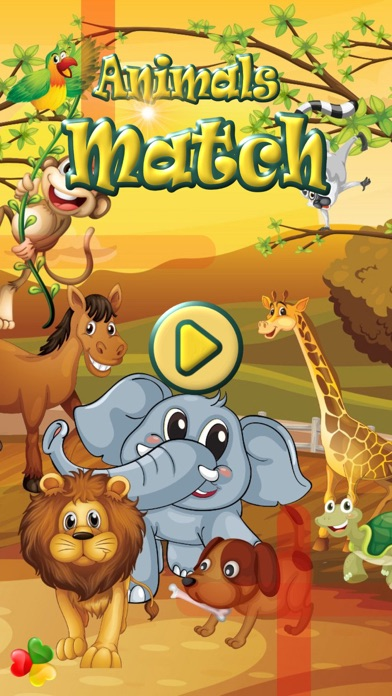 Animals Match - Fun Animal Connect Dots Game For Kids