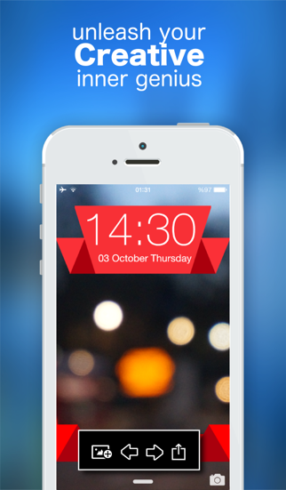 Lock Screen Wallpaper Designer Create Stunning Themes With Simple Gesture App Price Drops