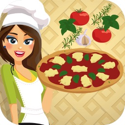 Pizza Margherita: Cooking with Emma - Baking game for Kids: Prepare a classic & vegan italian recipe