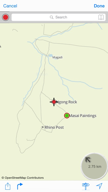 Serengeti : Offline Map. including Masaï-Mara and Ngorongoro National parks screenshot-3