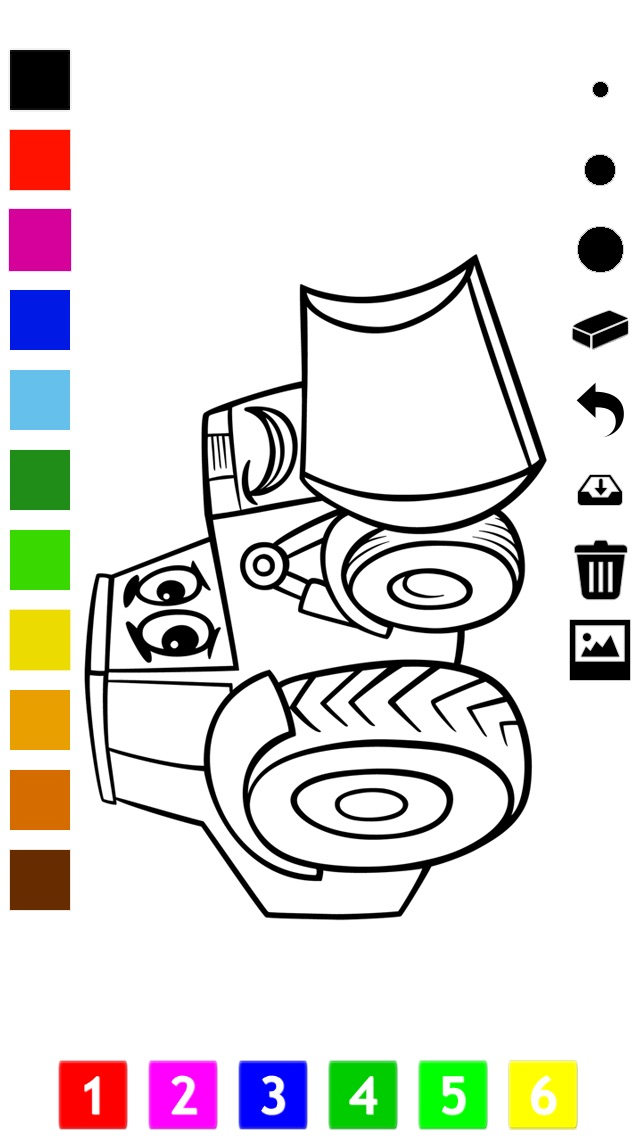 download A Cars Coloring Book for Boys: Learn to Color Pictures of Vehicles apps 0