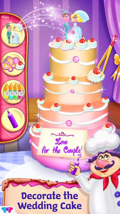 Clumsy Chef - Wedding Cake Adventures screenshot-4