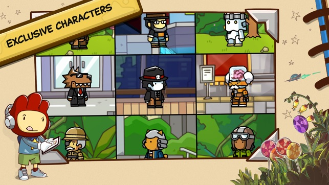 What do ghosts like scribblenauts