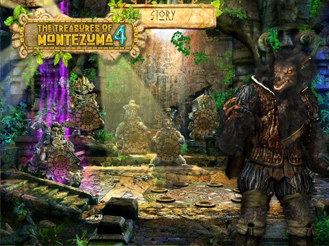 Игра The Treasures of Montezuma 4 HD