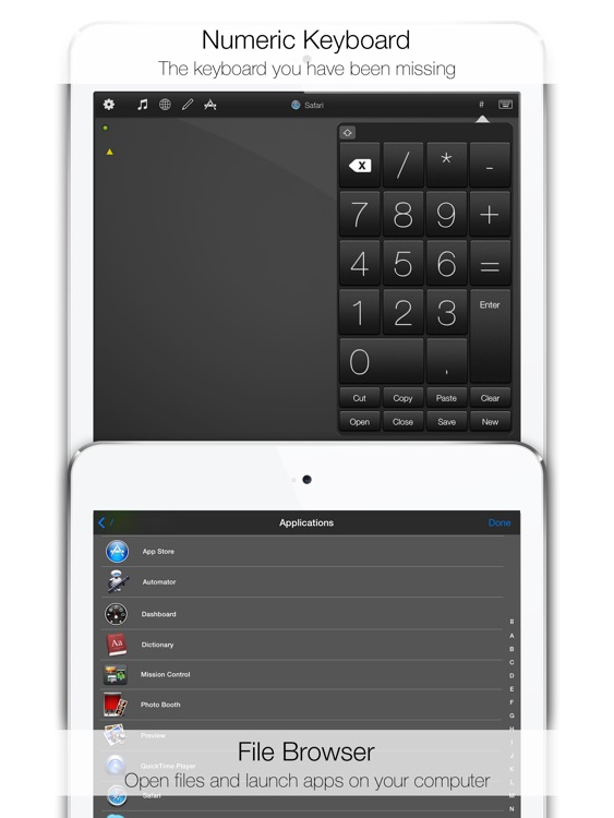 Mobile Mouse Remote - iPad Edition screenshot-4