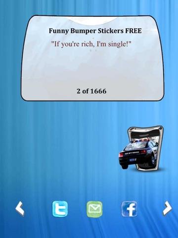 Funny Bumper Stickers FREE-ipad-1