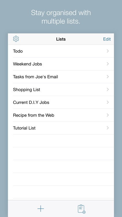 Todo Lists with Alter