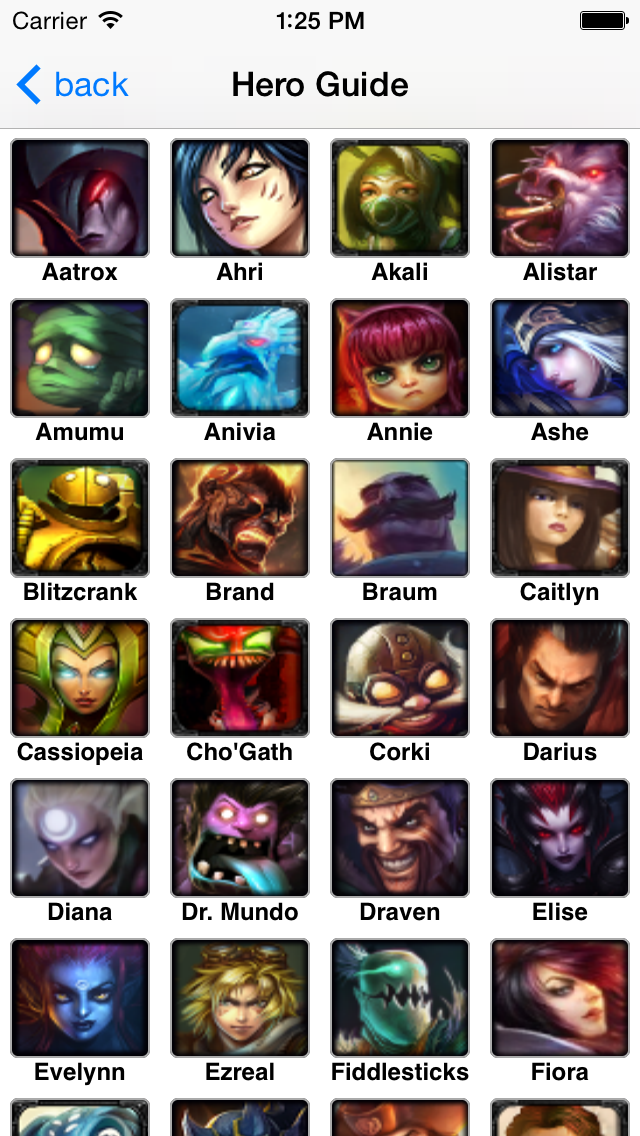 Hero Guide For LoL S4 (League of Legends) | App Price Drops