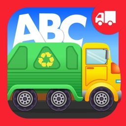 ABC Garbage Truck Free - an alphabet fun game for preschool kids learning ABCs and love Trucks and Things That Go