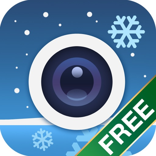 Amazing SnowCam Free - a snow effect cinemagraph + Christmas frames camera