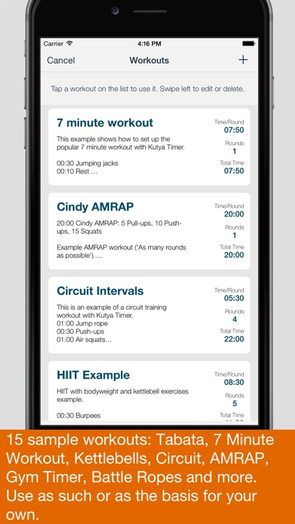 Kutya Timer - HIIT & Intervals screenshot-2