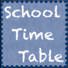 School Timetable - Lesson & Course Schedule for Student, Teacher, Organiser
