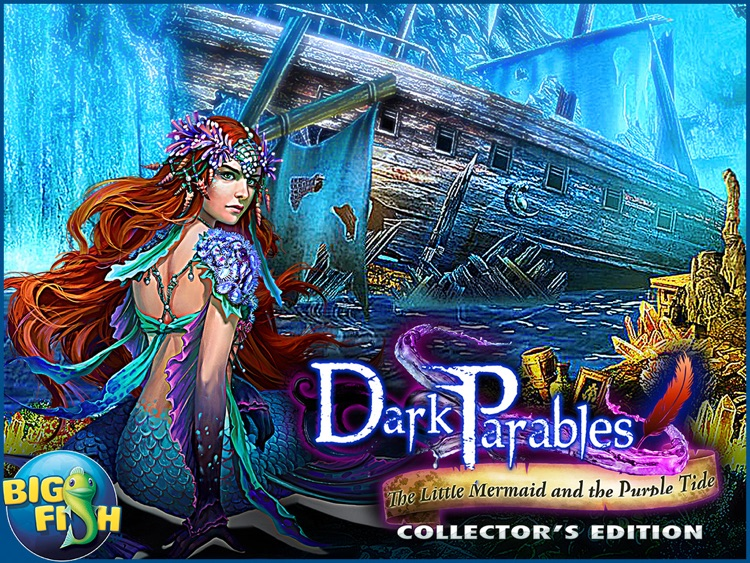 Dark Parables: The Little Mermaid and the Purple Tide Collector's Edition HD screenshot-4