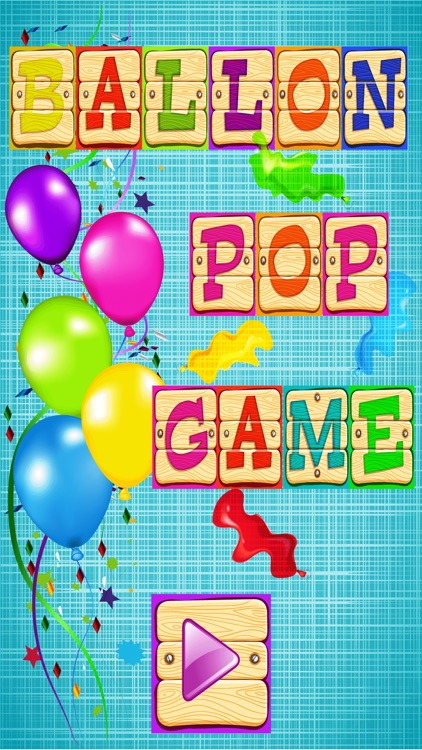 Balloon Pop Game For Kids