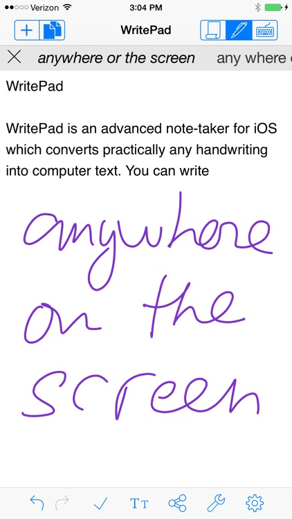 WritePad screenshot-0