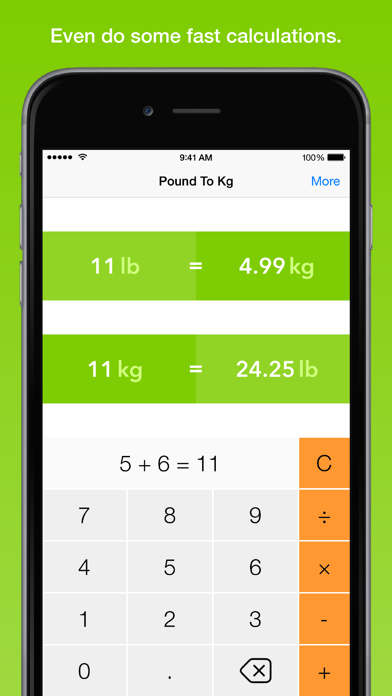 Pound To Kg, the fastest weight converterのおすすめ画像5
