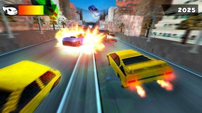 世界 カーレース . マイン フリー ピクセル 車 レーシング ライダー ゲームのスクリーンショット5