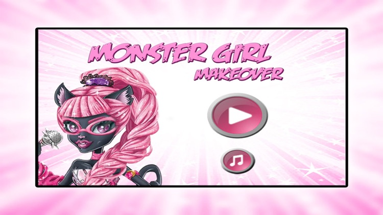 Monster Cat Girl Makeover: Dress up and Makeup Game Free