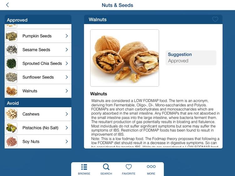 FODMAP Diet Foods Checker screenshot-3