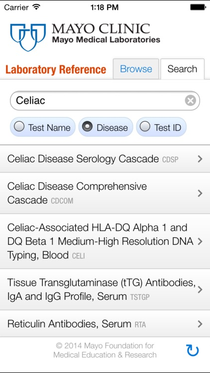 Lab Reference for iPhone