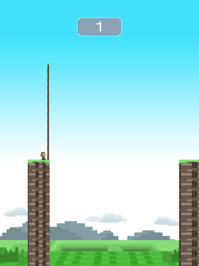 Block Man Hero: Super Tight-Wire Bridge Crossing, game for IOS