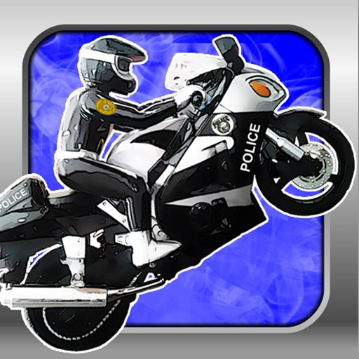 A Motorcycle Police Chase Race Track Game PRO