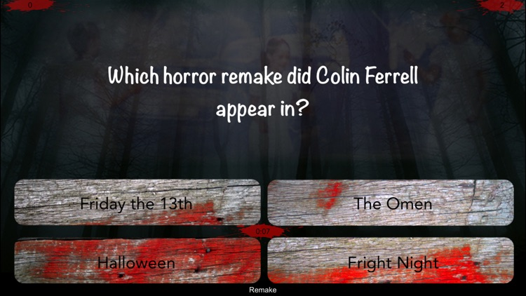 Horror Movie Nightmares