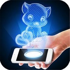 Activities of Hologram Kitten 3D Simulator