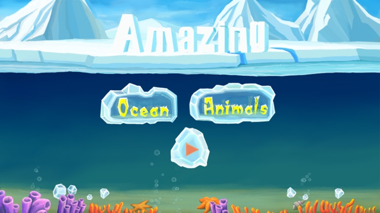 Amazing Ocean Animals- Educational Learning Apps for Kids screenshot-4