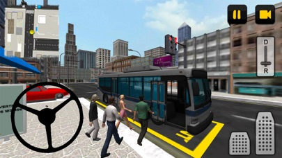 Bus Driver 3D: City screenshot one