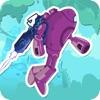 Adventure Robots - ジャングルでの戦闘ロボットとアンドロイド