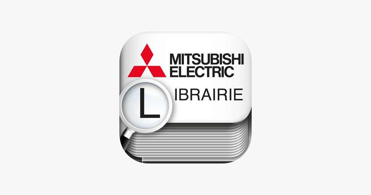 librairie mitsubishi electric france on the app store. Black Bedroom Furniture Sets. Home Design Ideas