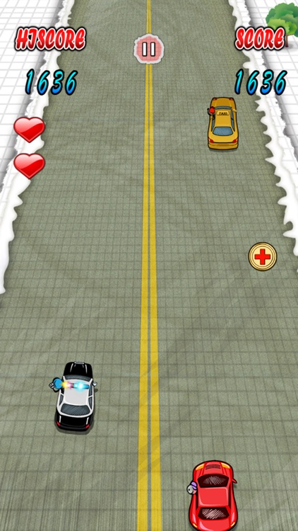 `Stickman Police Car Crime Chase Race: The Doodle Chase Racing Free by Top Crazy Games