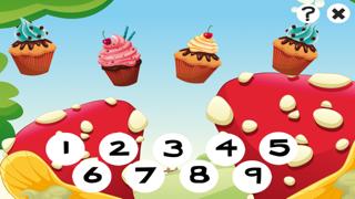 123 活躍! 遊戲,學習計數 與cookies兒童屏幕截圖1