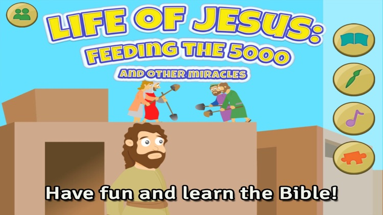 Life of Jesus: Feeding the 5000 and Other Miracles