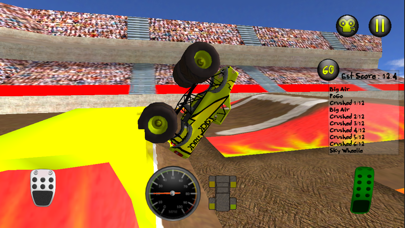Screenshot from Monster Truck Mayhem(QD)