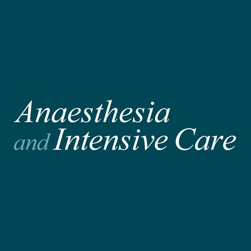 Anaesthesia & Intensive Care
