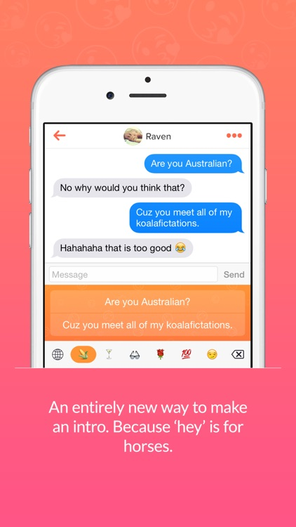 Flirty - Keyboard for Tinder
