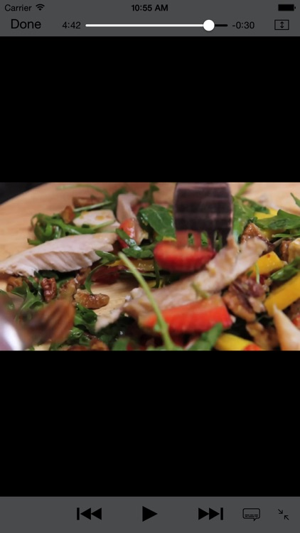 Healthy and easy salad recipes - free video and cooking tips screenshot-3