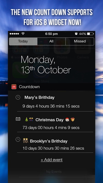 Countdown App Pro (Big Day Event Reminder & Digital Clock Timer Counter) screenshot-0