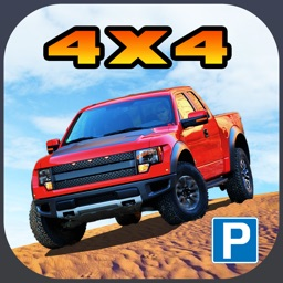 3D Off-Road Truck Parking 2 PRO - Extreme 4x4 Dirt Racing Stunt Simulator